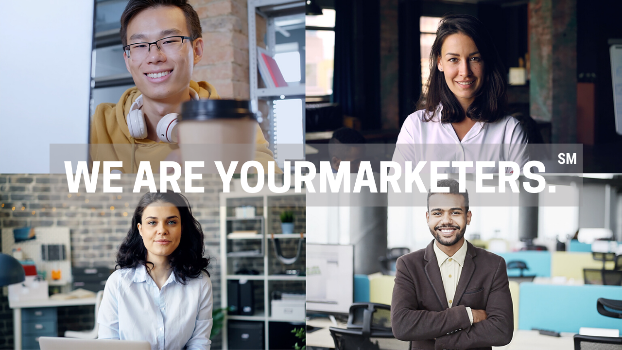 We Are YourMarketers.